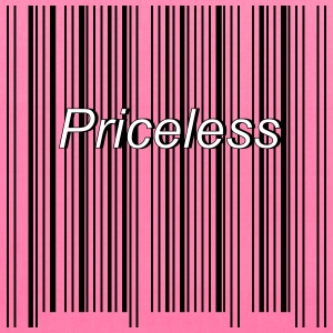 priceless barcode - Tote Bag