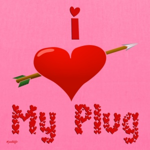 i_love_my_plug_2 - Tote Bag