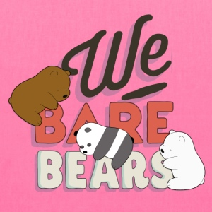 We Bare Bears Sleep - Tote Bag