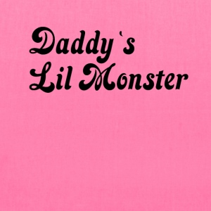 Daddy`s Lil monster - Tote Bag