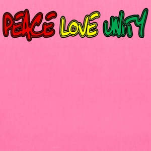 Peace Love Unity - Tote Bag