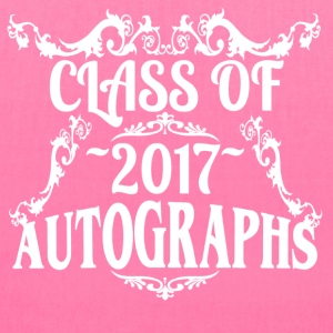 Class of 2017 Autograph Keepsake Tee - Tote Bag