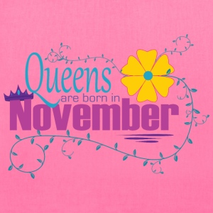 Queens are born in November TeeS Design 2017 - Tote Bag