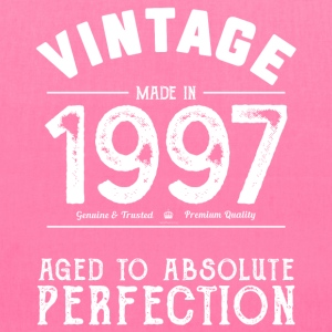 1997 Aged To Perfection: 20th Birthday Present - Tote Bag