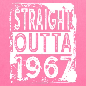 Funny 50th Birthday Gift: Straight Outta 1967 - Tote Bag
