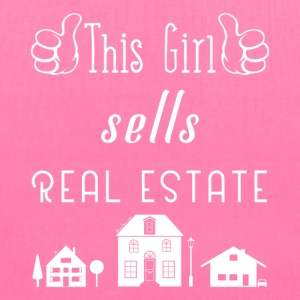 This Girl Sells Real Estate for Property Managers - Tote Bag