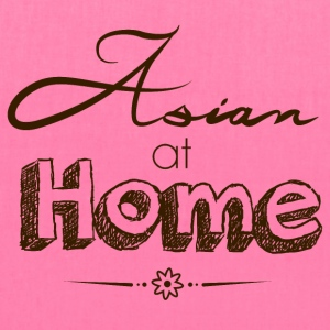 Asian at Home Dark - Tote Bag