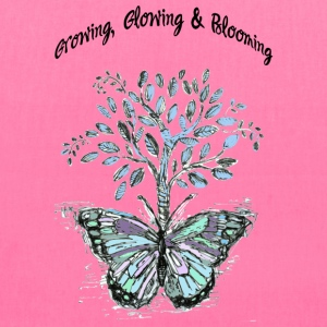 Growing, Glowing and Blooming - by Fanitsa Petrou - Tote Bag