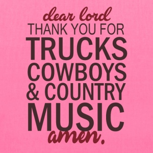 THANK YOU FOR TRUCKS COWBOYS - Tote Bag
