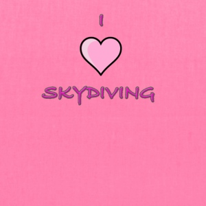 I Love Skydiving/BookSkydive/Perfect Gift - Tote Bag