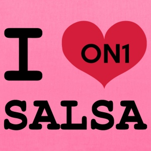 I Love Salsa On 1 - Tote Bag