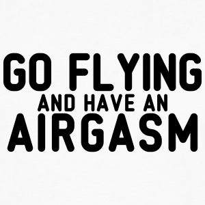 airgasm flying - Men's Premium Long Sleeve T-Shirt