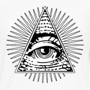 All seeing eye! Illuminati! - Men's Premium Long Sleeve T-Shirt