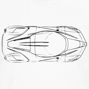 Laferrari Ferrari Drawing - Men's Premium Long Sleeve T-Shirt