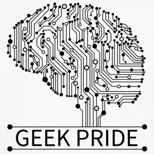 Geek Pride T Shirt - Men's Premium Long Sleeve T-Shirt