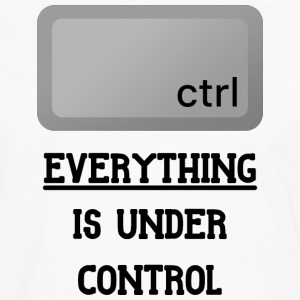 Everything is under Ctrl T Shirt - Men's Premium Long Sleeve T-Shirt