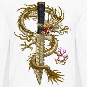 Tiger Tooth Dragon - Men's Premium Long Sleeve T-Shirt