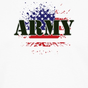 ARMY USA FLAG - Men's Premium Long Sleeve T-Shirt