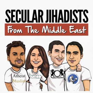 Secular Jihadists from the Middle East - Men's Premium Long Sleeve T-Shirt