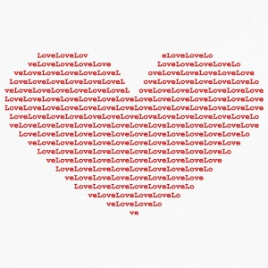 Isle of Ascii red Heart | by Isles of Shirts - Men's Premium Long Sleeve T-Shirt