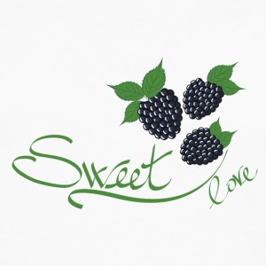 blackberry sweet fruit - Men's Premium Long Sleeve T-Shirt