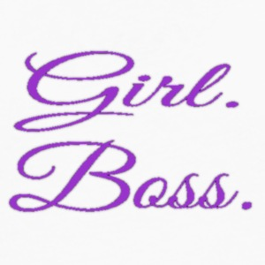 Girl. Boss. - Men's Premium Long Sleeve T-Shirt