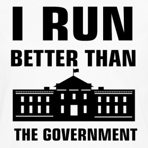 Run better than the Government - Men's Premium Long Sleeve T-Shirt