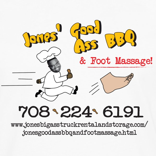 Jones Good Ass BBQ and Foot Massage logo