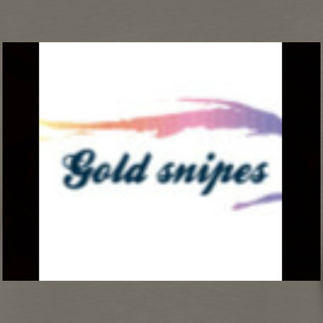 Kids Gold snipes Tshirt