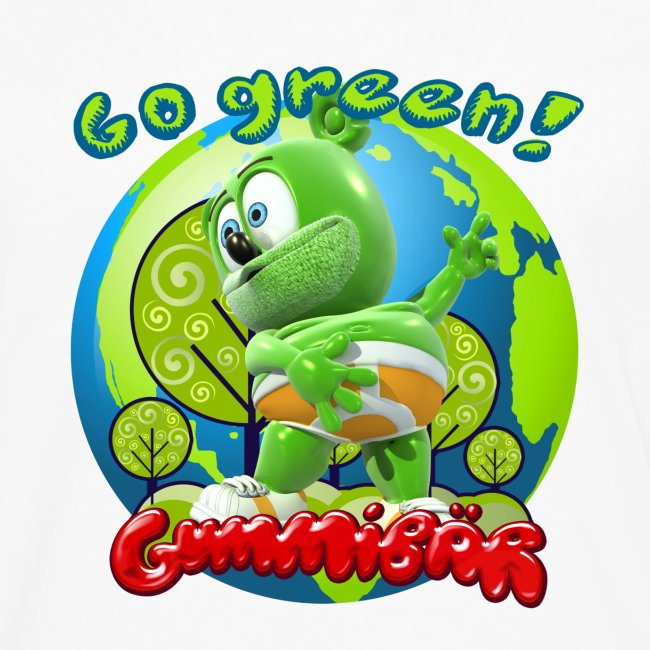 Gummibär Go Green Earth Day Earth