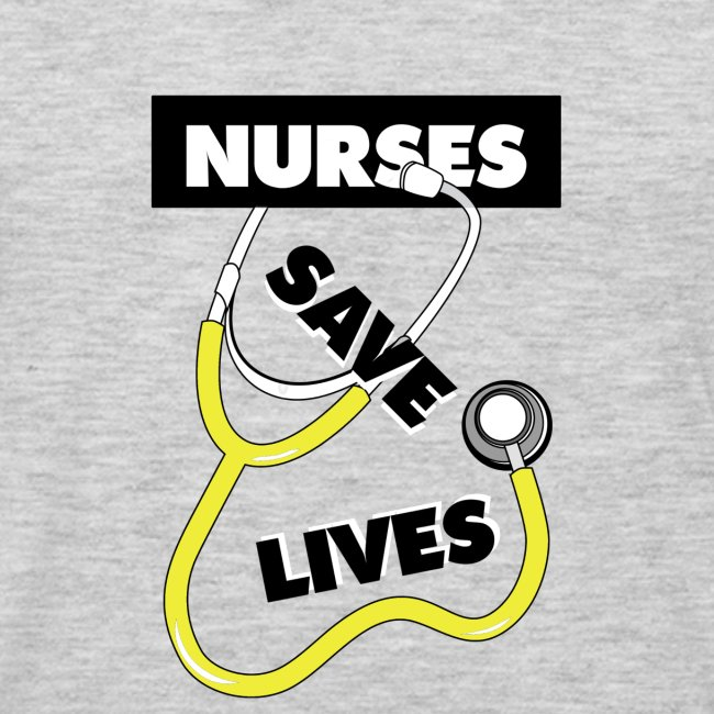Nurses save lives yellow