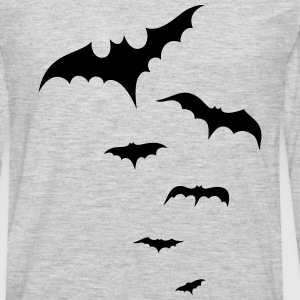 Flock of bats - Men's Premium Long Sleeve T-Shirt