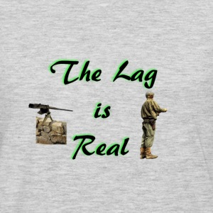 The lag is real - Men's Premium Long Sleeve T-Shirt