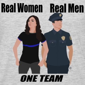 One Team: Police - Men's Premium Long Sleeve T-Shirt