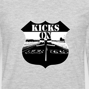 Kicks on Route 66 - Men's Premium Long Sleeve T-Shirt