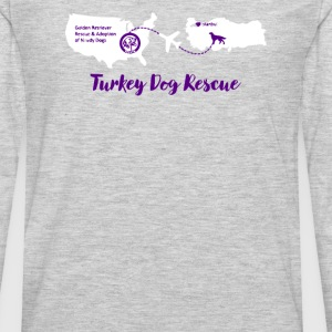Turkey Dog Rescue - Men's Premium Long Sleeve T-Shirt