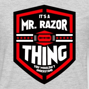 It's a Mr Razor Thing Trini - Men's Premium Long Sleeve T-Shirt
