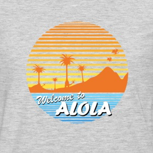 Welcome to Alola - Men's Premium Long Sleeve T-Shirt