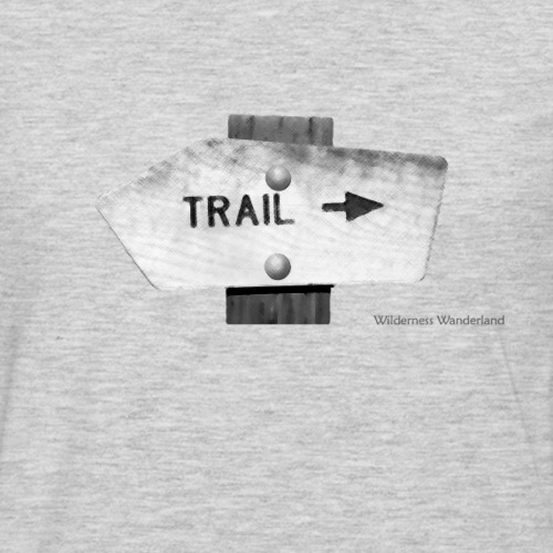 Trail Sign - Men's Premium Long Sleeve T-Shirt