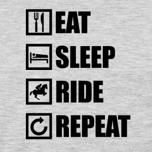 EAT SLEEP RIDE REPEAT - Men's Premium Long Sleeve T-Shirt