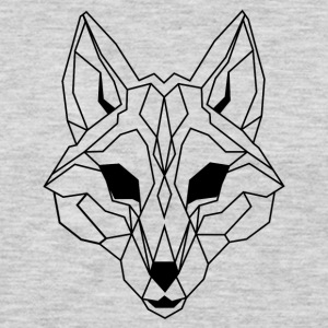 Lineart of a wolf / wolf transparent - Men's Premium Long Sleeve T-Shirt