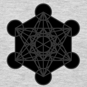 Metatron's Cube - Men's Premium Long Sleeve T-Shirt