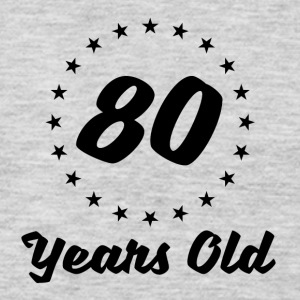80 Years Old - Men's Premium Long Sleeve T-Shirt