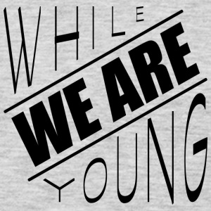 While we are young - Men's Premium Long Sleeve T-Shirt
