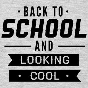 back_to_school_and_looking_cool - Men's Premium Long Sleeve T-Shirt