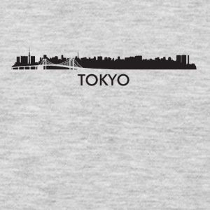Tokyo Japan Skyline - Men's Premium Long Sleeve T-Shirt