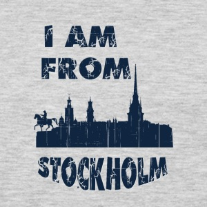 STOCKHOLM I am from - Men's Premium Long Sleeve T-Shirt