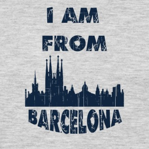 Barcelona I am from - Men's Premium Long Sleeve T-Shirt