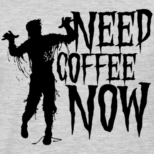 need coffee - Men's Premium Long Sleeve T-Shirt