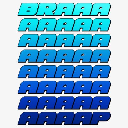 BRAAAAP LG BLUE - Men's Premium Long Sleeve T-Shirt